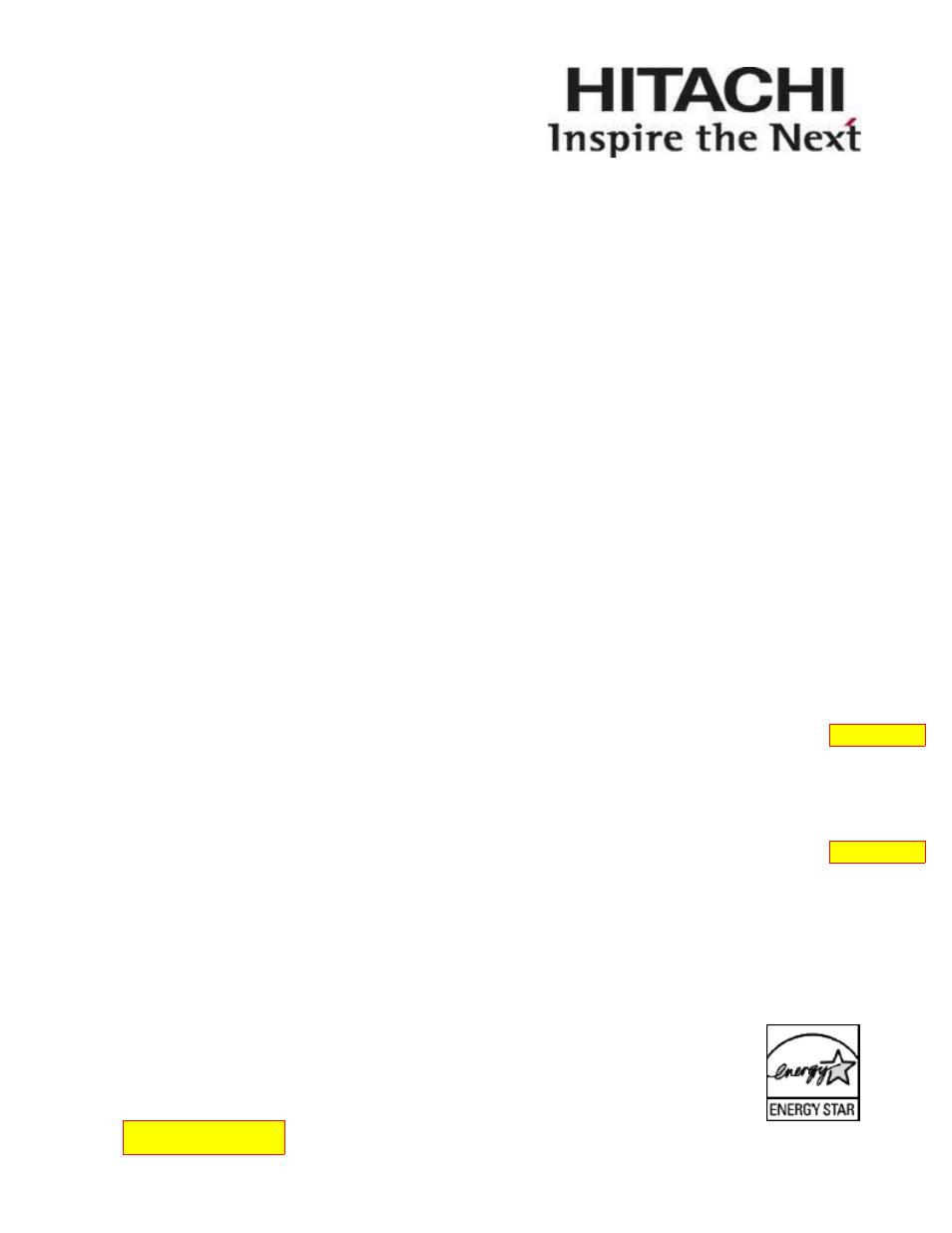 hitachi 42hdf52 user manual 50 pages rh manualsdir com Hitachi HDTV Manual Hitachi Ultravision Owner's Manual