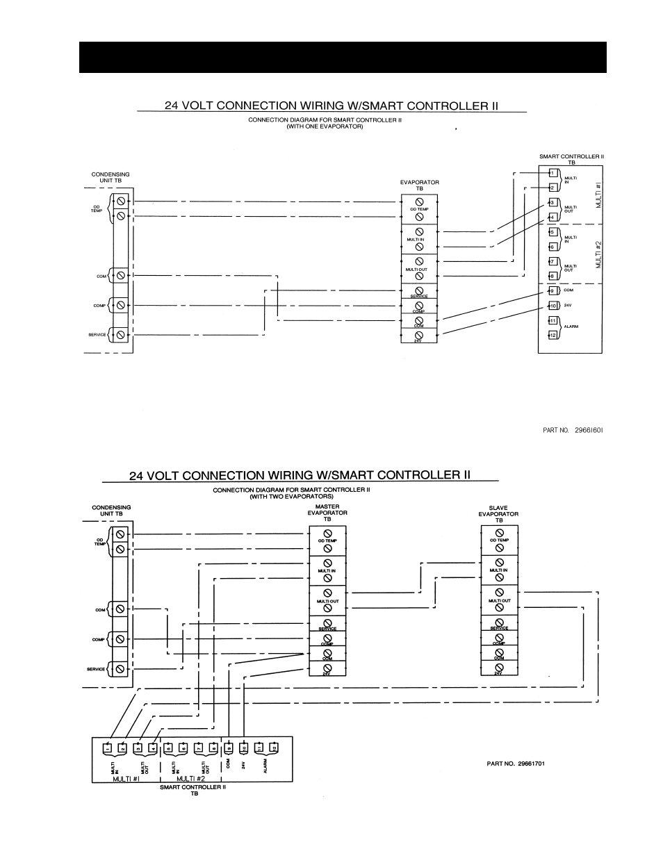 Wiring diagrams -23, Wiring diagrams | Heatcraft Refrigeration Products  BEACON II SMART CONTROLLER H-IM-80C User Manual | Page 21 / 24
