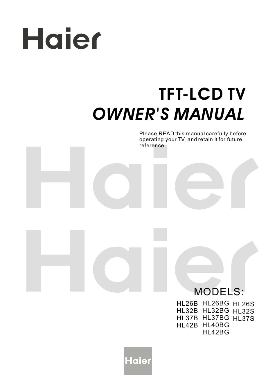 Haier HL26BG