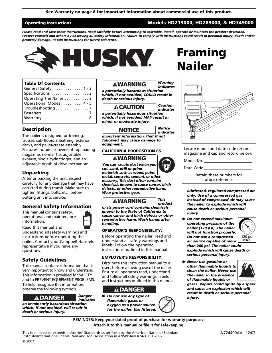 husky hd289000 user manual 24 pages original mode also for rh manualsdir com husky tools user manuals husky storm user manual