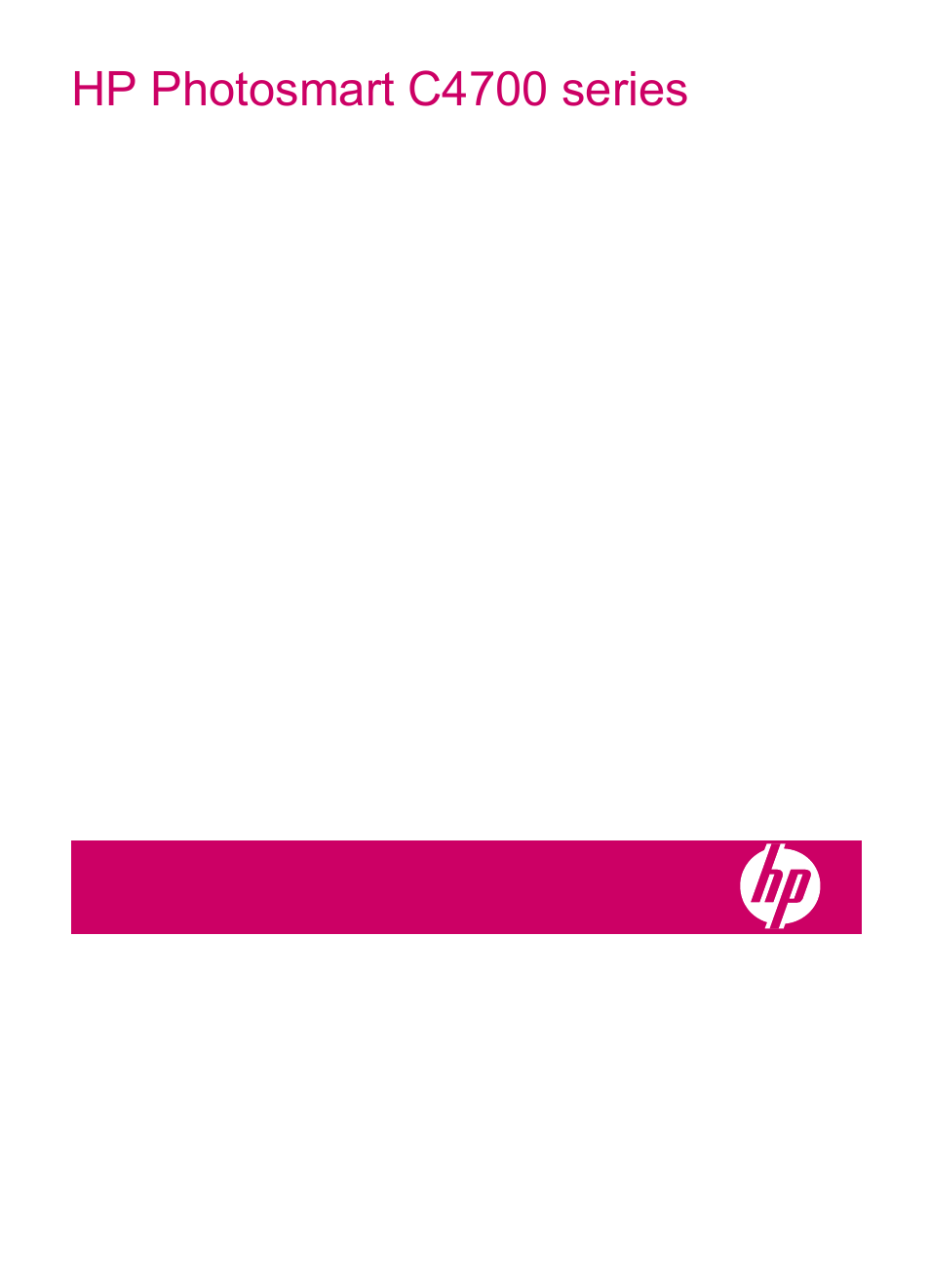 HP Photosmart C4780 User Manual | 120 pages | Also for