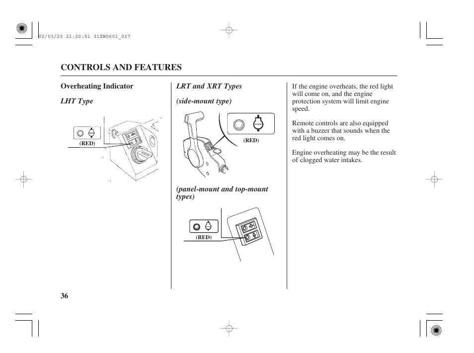 HONDA Outboard Motor BF75A User Manual | Page 38 / 130