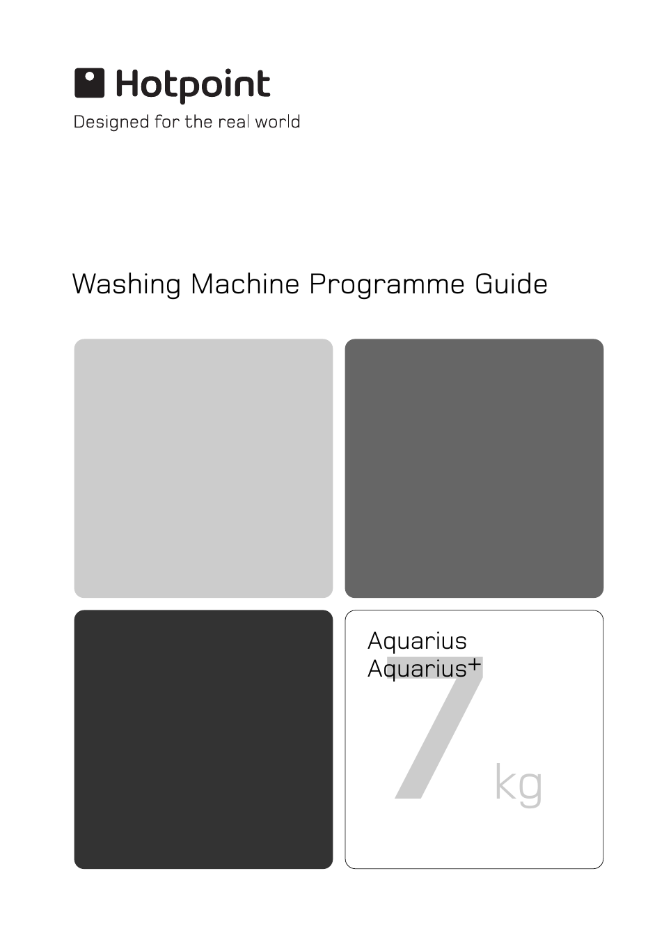 Hotpoint WT540 User Manual | 16 pages | Also for: WT760, WT745, AQUQRIUS  PLUS WT740