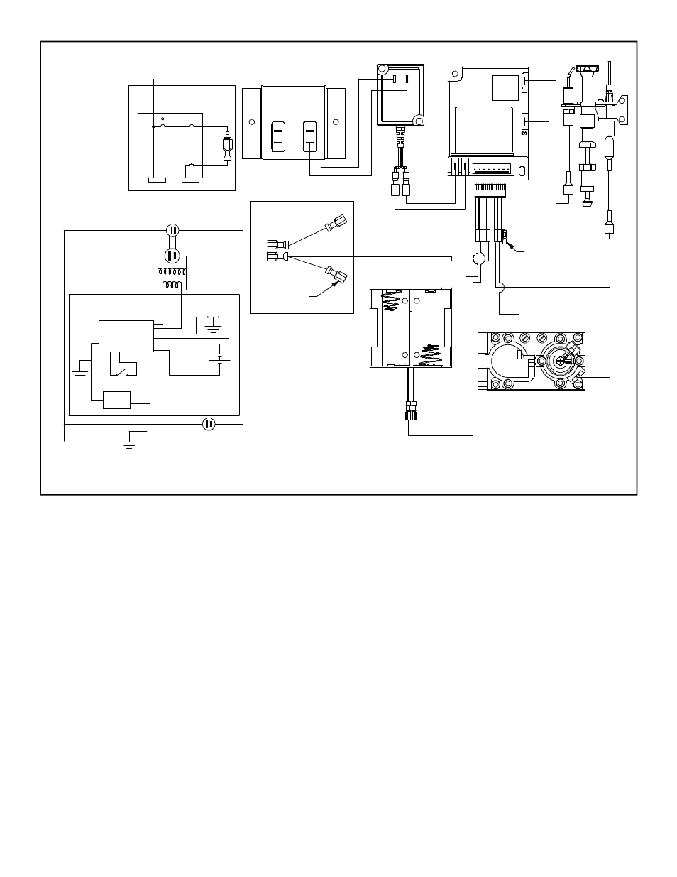 Junction Box Stove Wiring For Intermittent Pilot Ignition Ipi Hearth And Home Technologies Gas L Corner Trc User Manual Page 36 40