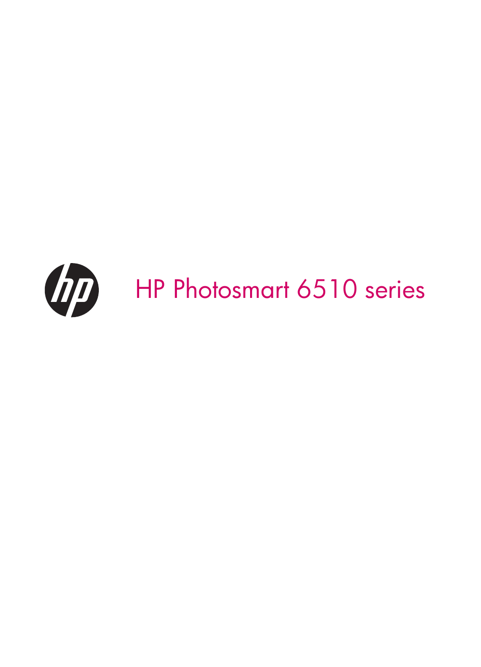 HP 6510 User Manual | 64 pages | Also for: Photosmart 6515 e-All-in-One  Printer - B211a