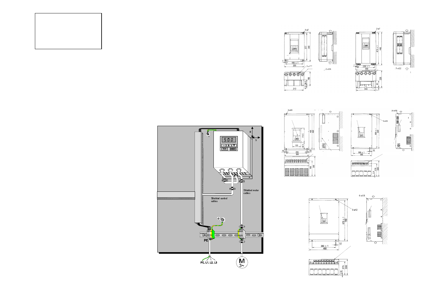 Hitachi Inverter J300 User Manual Page 5 6 Control Box Wiring Diagram