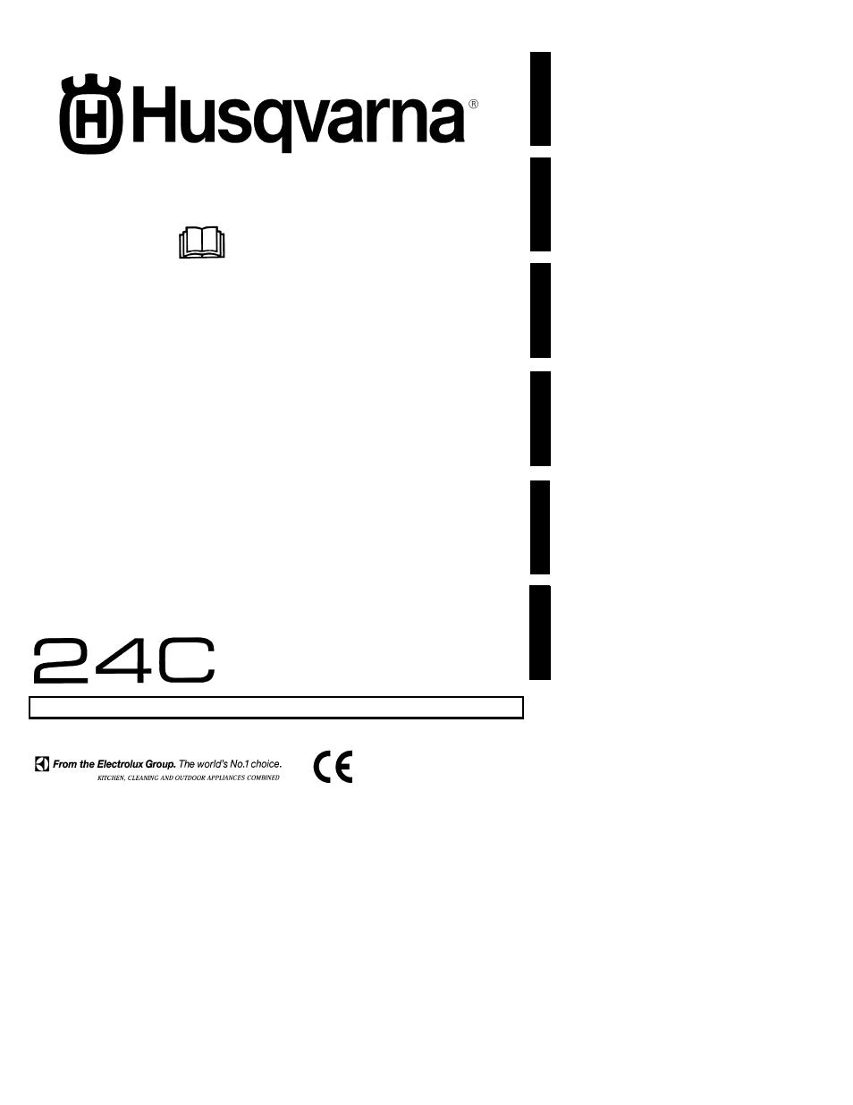 Husqvarna 24C User Manual | 12 pages