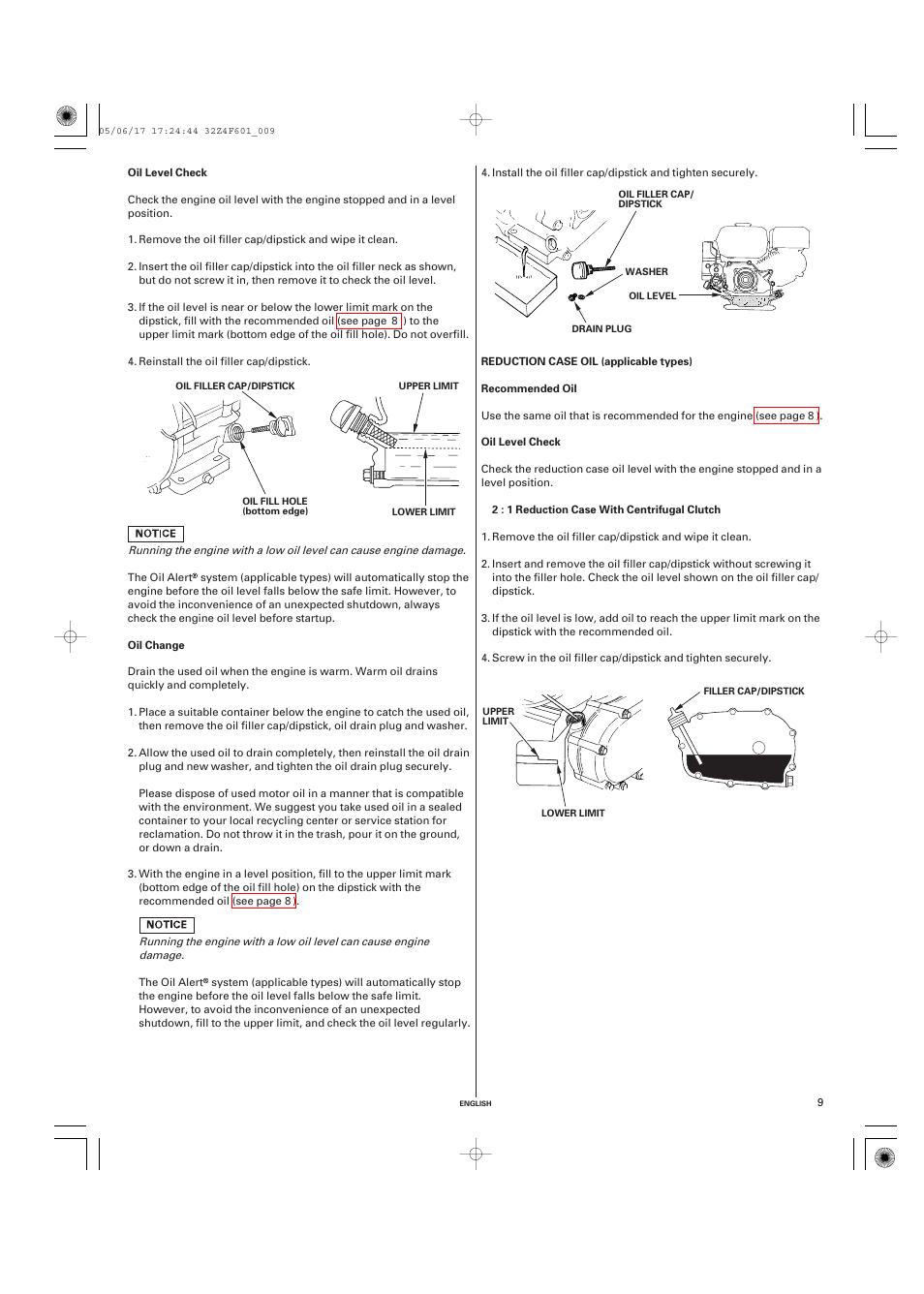honda gx200 servis manual