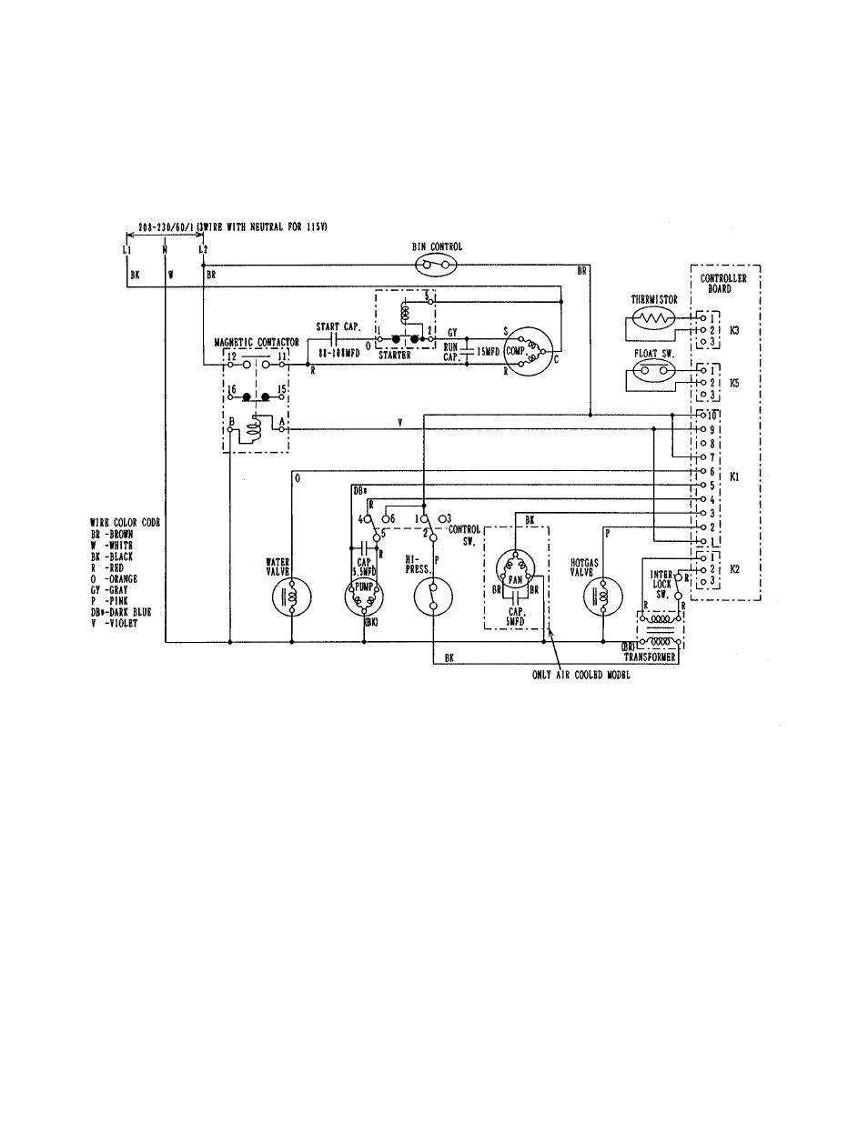 hoshizaki km 630mwf user manual page 28 61 also for km 630maf rh manualsdir com