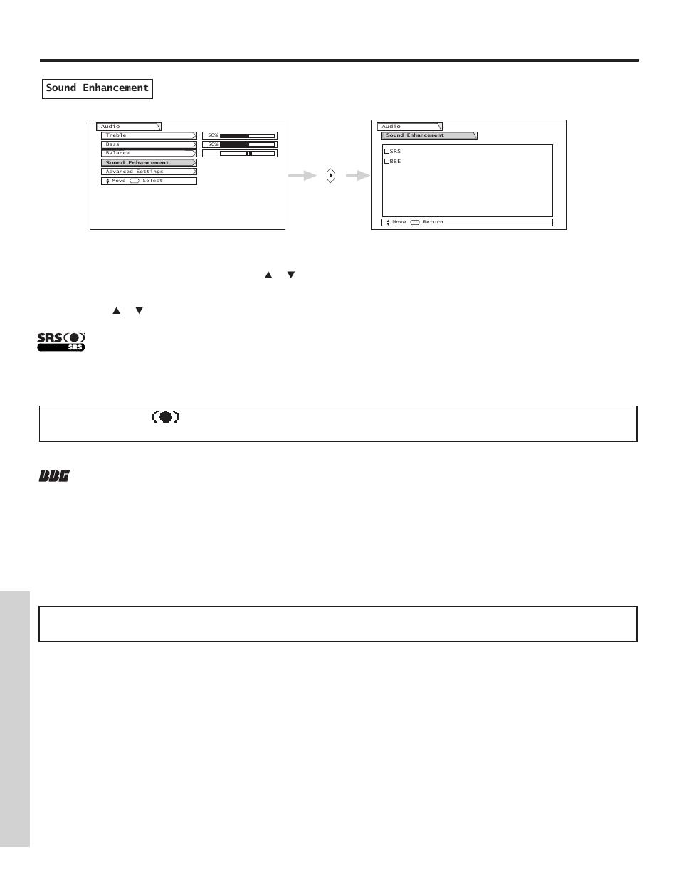 audio on screen displa y hitachi 51f500 user manual page 40 64 rh manualsdir com Hitachi StarBoard Manual Hitachi TV Repair Manual