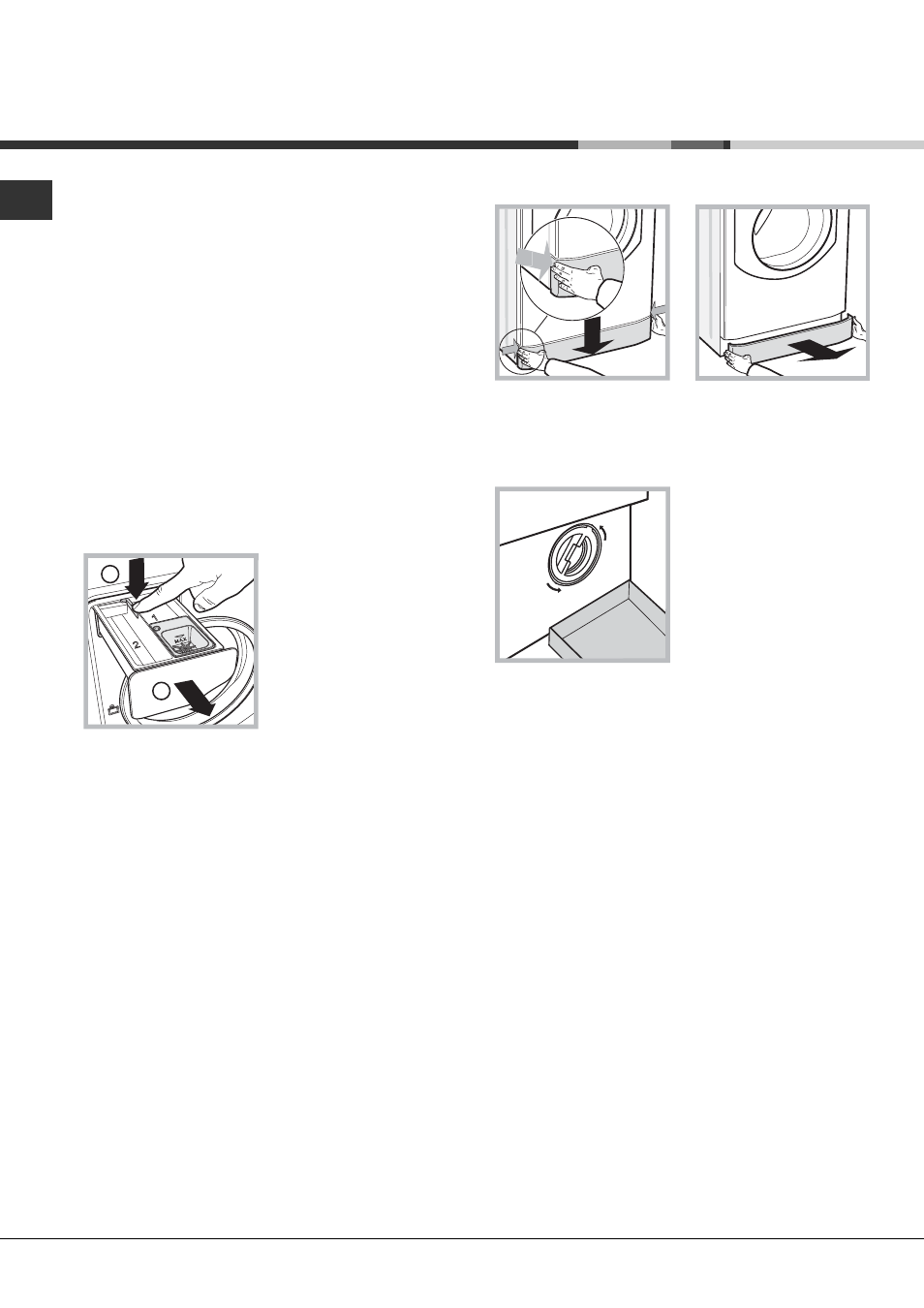 Care and maintenance | Hotpoint AQUALTIS WASHING MACHINE AQ7F User Manual |  Page 12 / 16