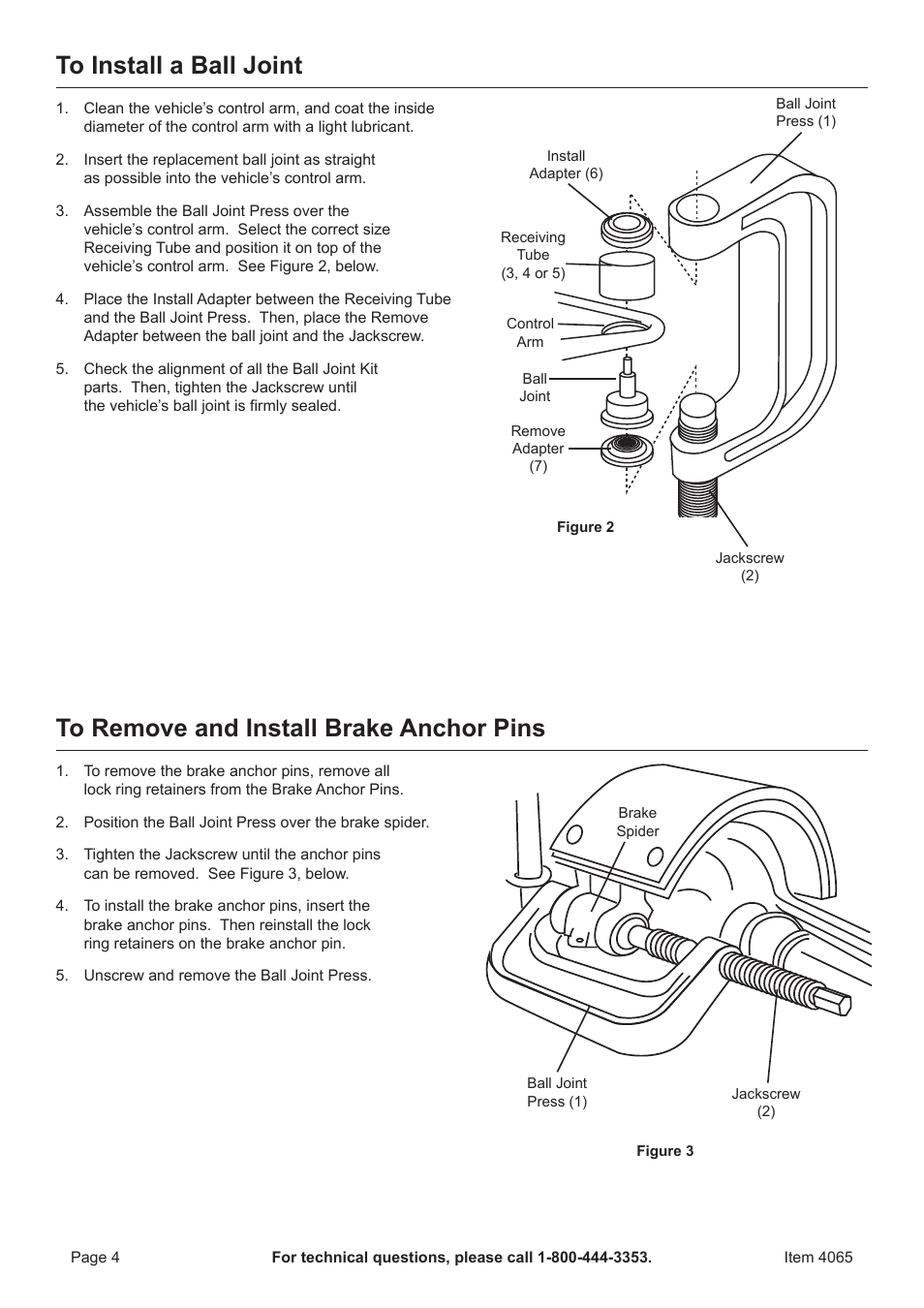 Ball Joint Press Diagram Trusted Schematics Harbor Freight Tools Pittsburgh Automotive 2wd And 4wd 2002 Ford Escape