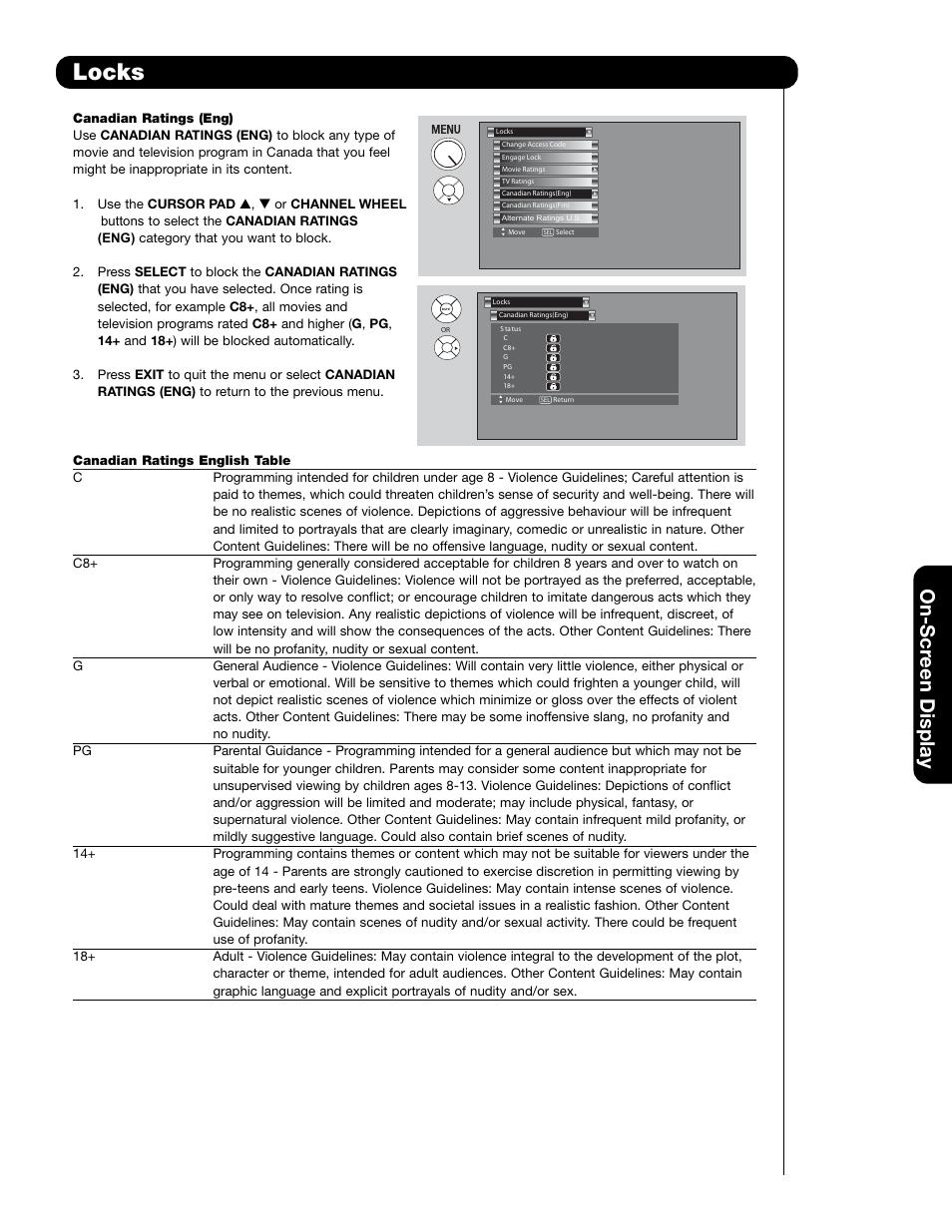 locks on scr een display hitachi 55hdt79 user manual page 61 rh manualsdir com Hitachi Plasma HDTV Hitachi Plasma Repair Manual