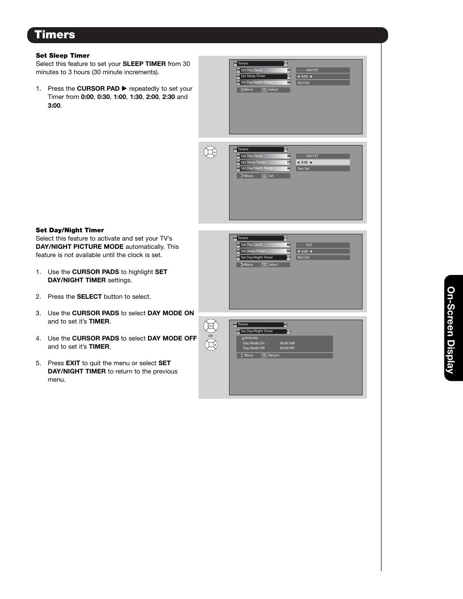 timers on scr een display hitachi 55hdt79 user manual page 65 rh manualsdir com Verizon LG User Manual hitachi 55hdt79 service manual