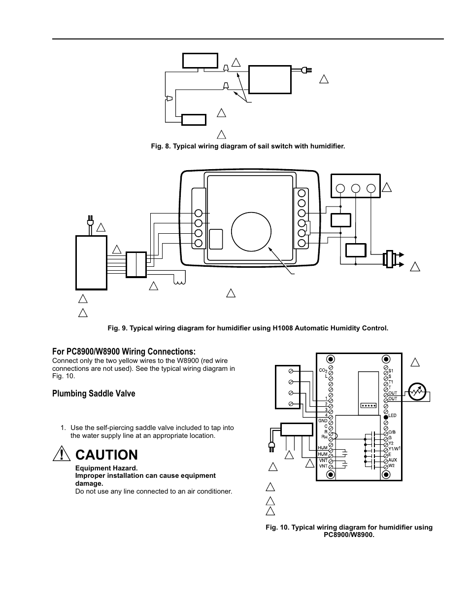 manual humidistat wiring diagram caution, plumbing saddle valve, he365a,b powered flow ... 1997 lexus es300 repair manual electrical wiring diagram pdf c2 b7