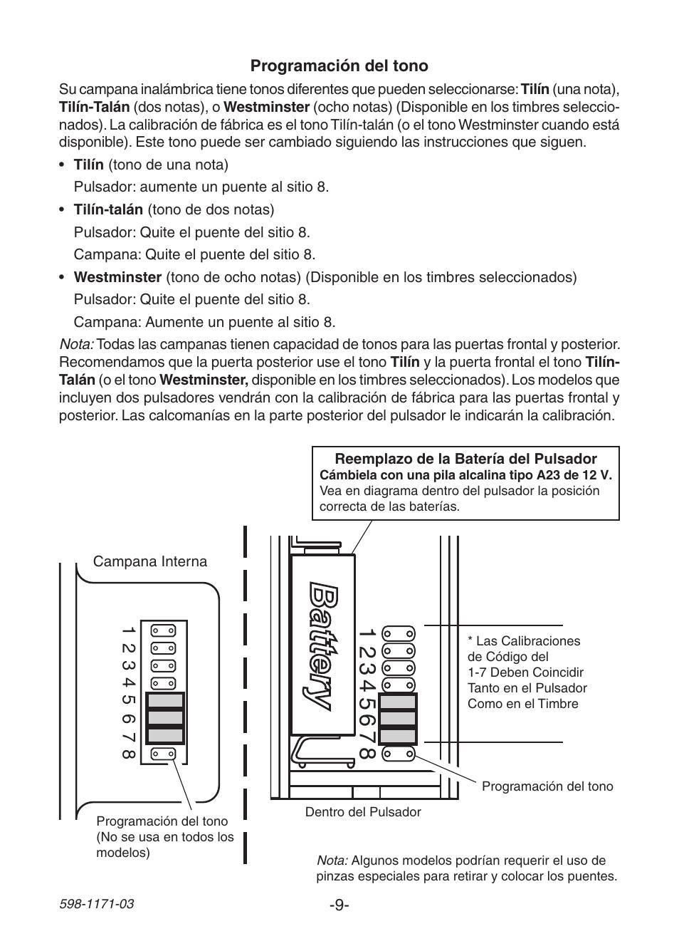 heath zenith wireless manual