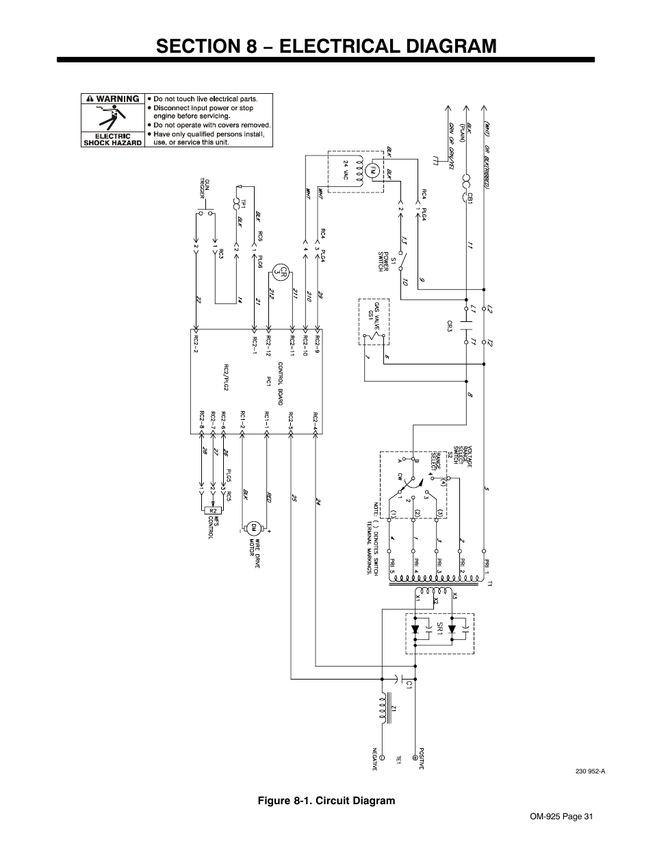bobcat 751 wiring diagram