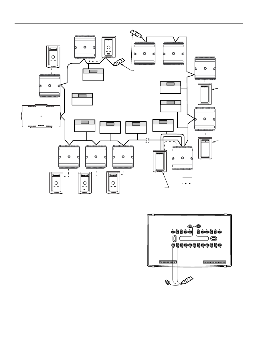 cable termination  singly terminated network segment