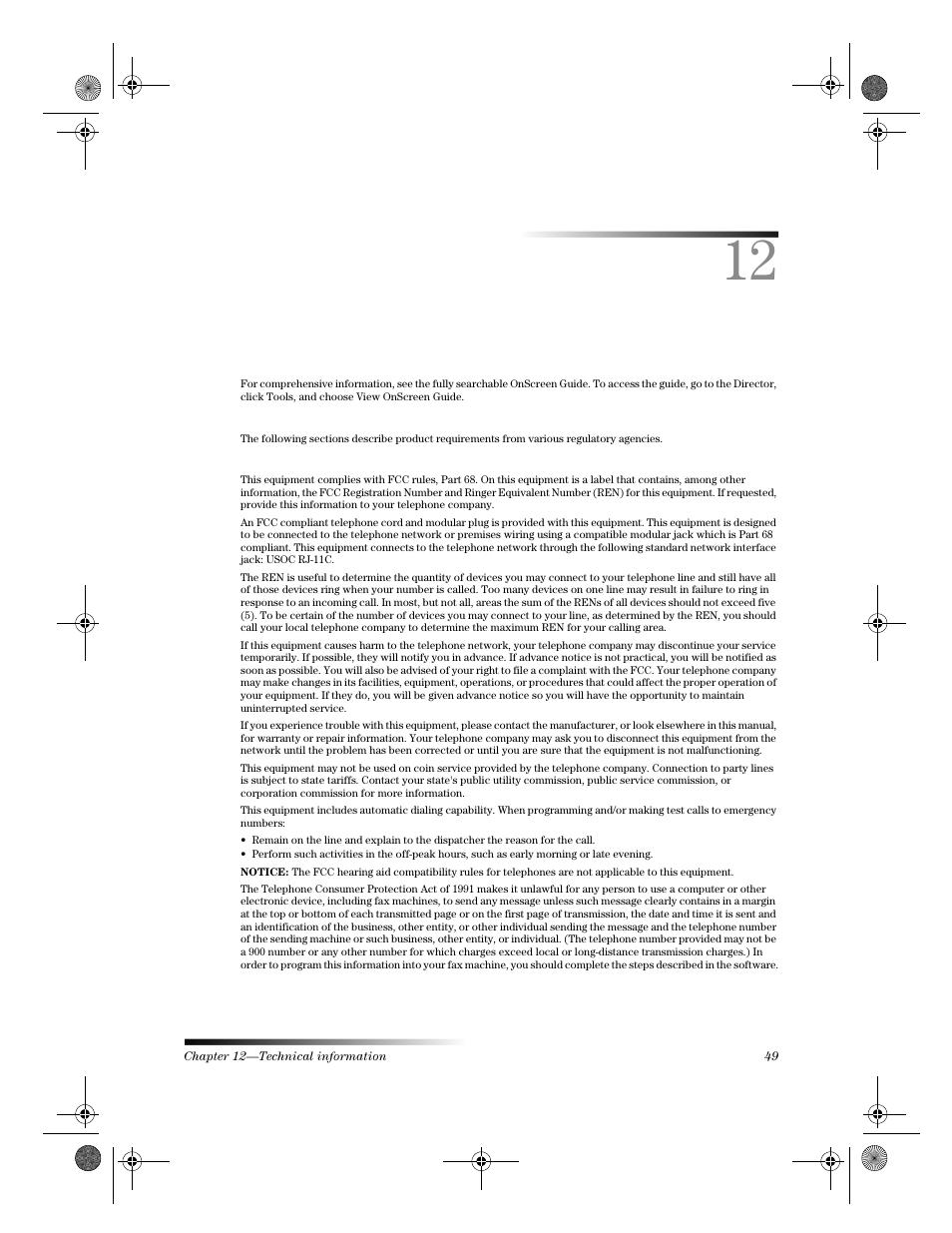 technical information hp c6734a user manual page 49 58 rh manualsdir com hp 49g manual hp vt 49 manual