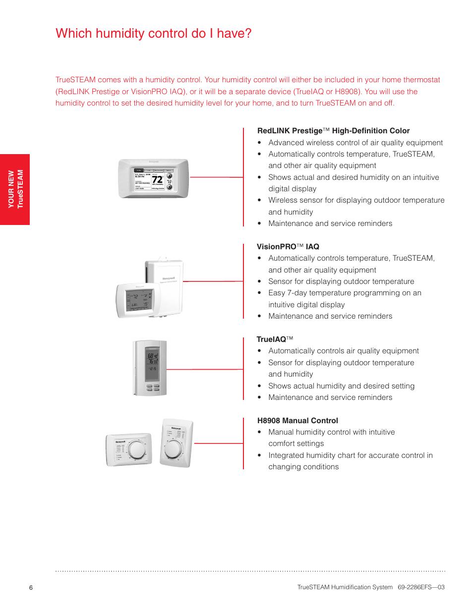 Honeywell Truesteam Manual Humidifier Wiring Diagram Installation Manua