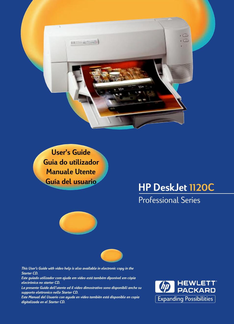hp deskjet 1280 service manual