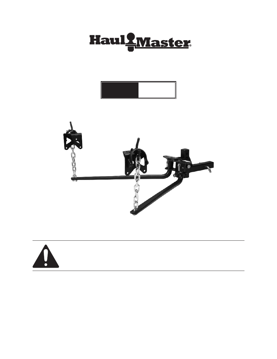weight distribution hitch instructions
