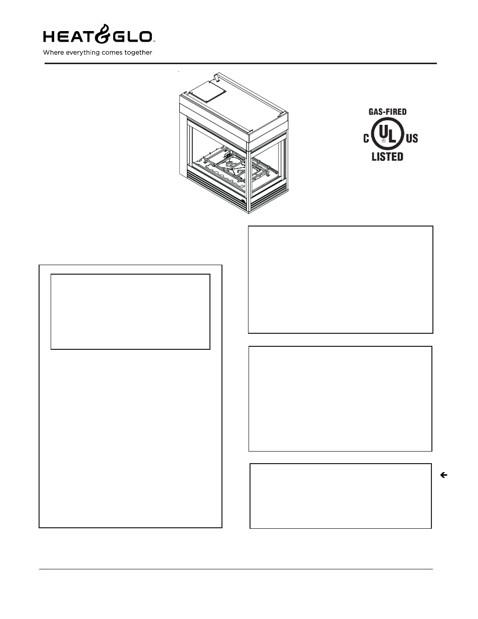 hearth and home technologies heat u0026 glow pier hvb ipi user manual