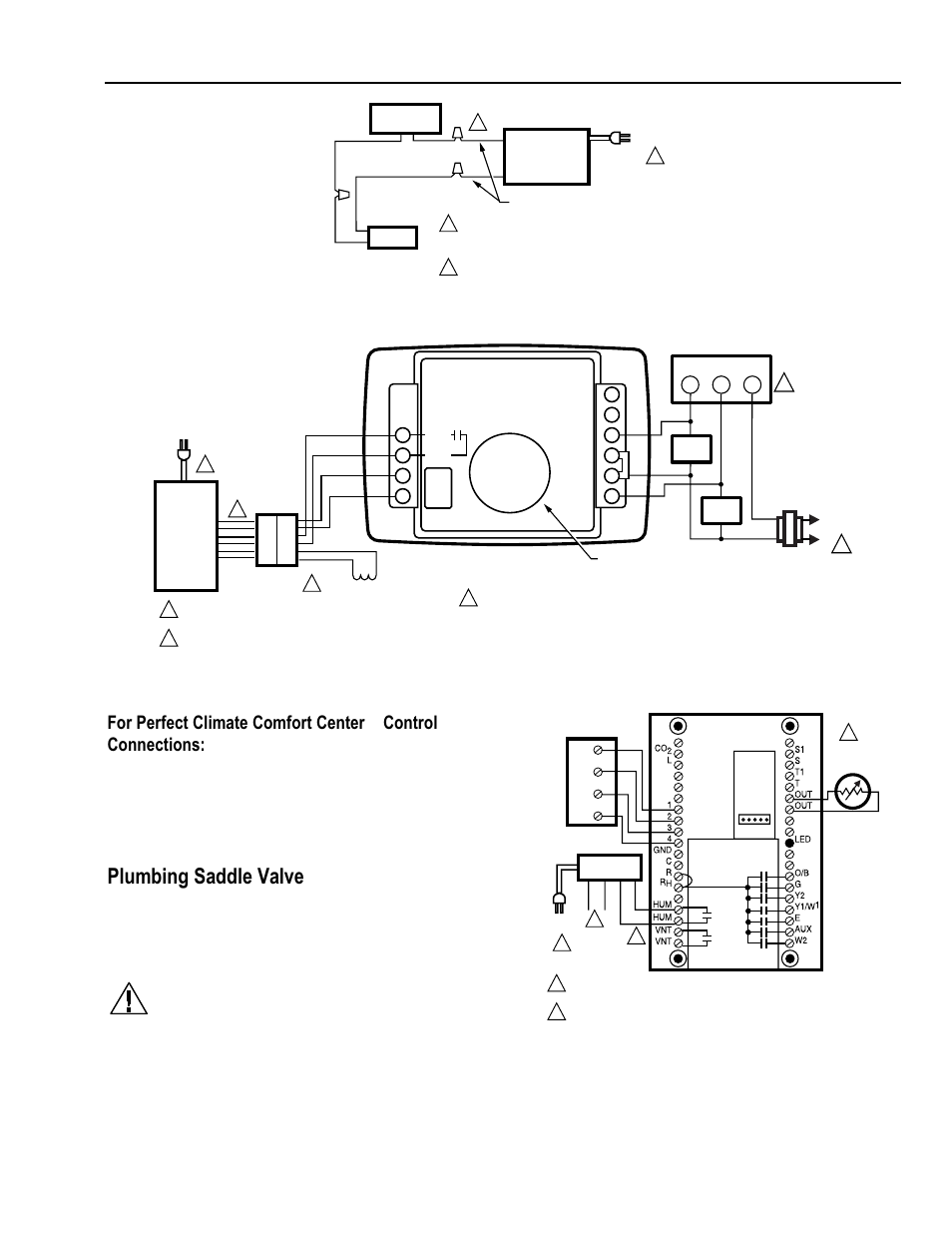 Honeywell He A Page on honeywell humidifier wiring diagram