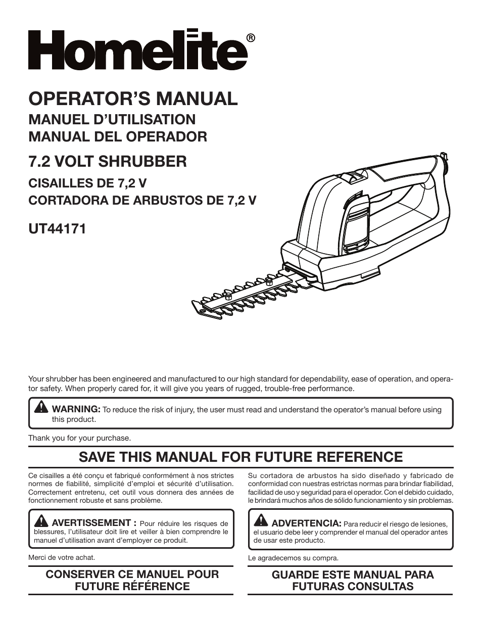 homelite ut44171 user manual 42 pages original mode rh manualsdir com Homelite Chainsaw Manual PDF Homelite String Trimmer Manual