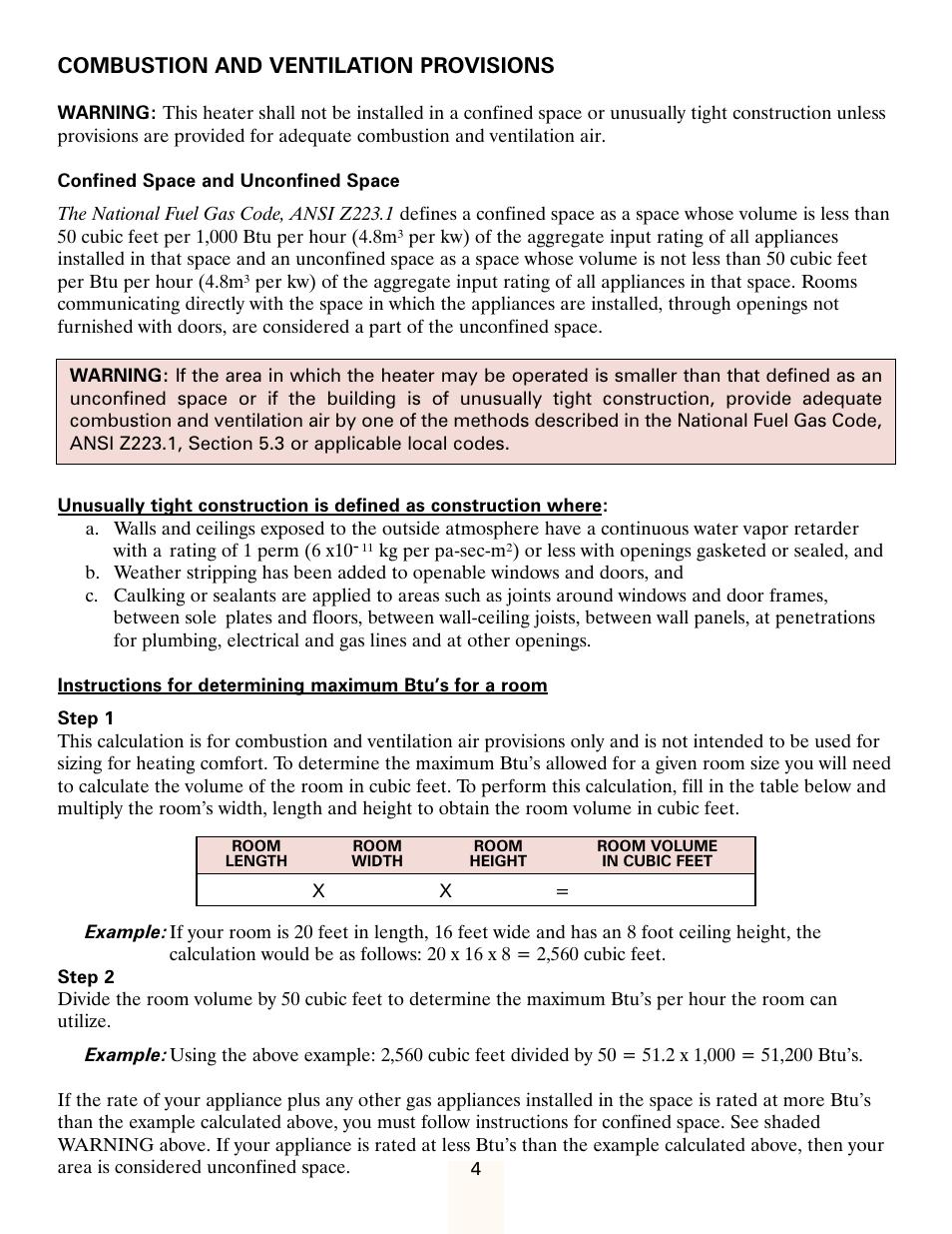 combustion and ventilation provisions heatmaster hmdgj user manual rh manualsdir com