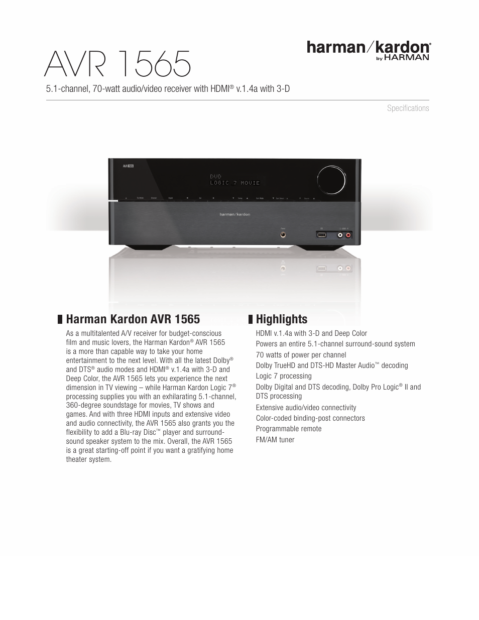 harman kardon avr 225 manual
