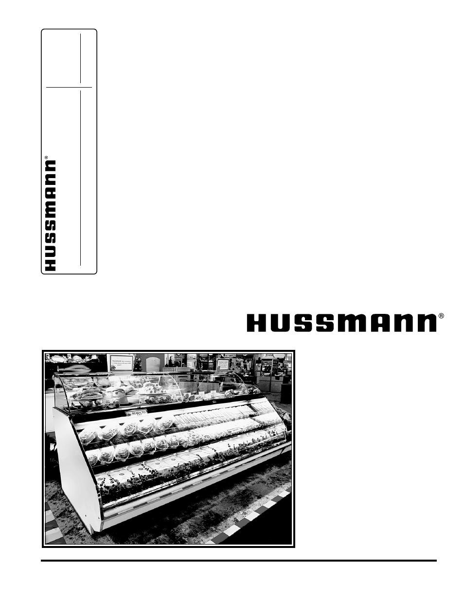 hussmann rgssfp user manual