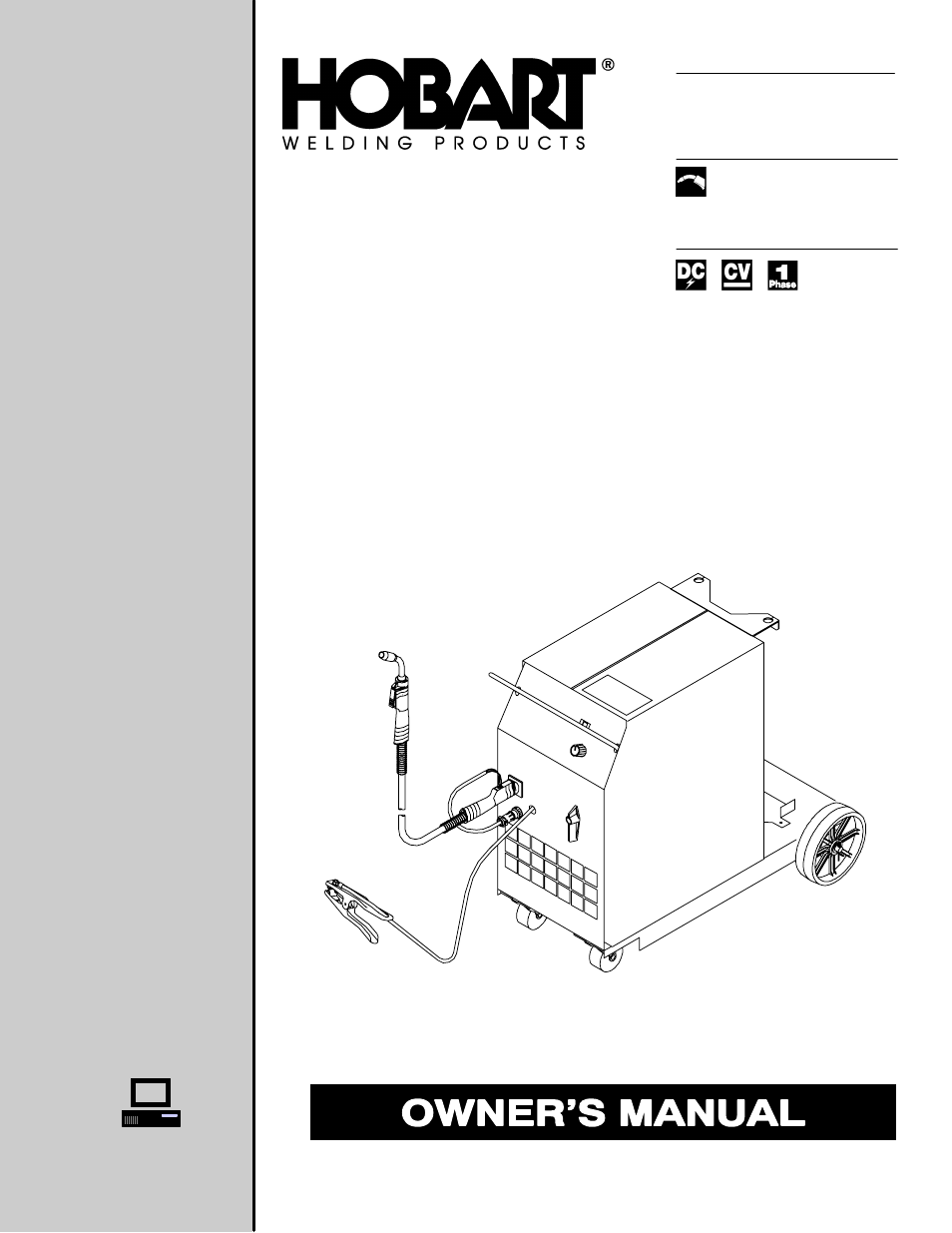 hobart welding products beta mig 1800 page1 hobart welding products beta mig 1800 user manual 36 pages
