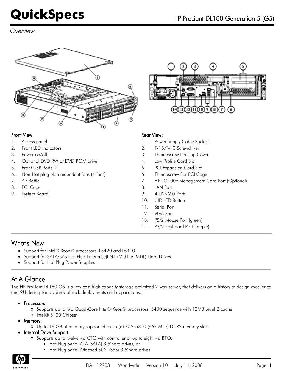 Hp Proliant Dl180 G5 User Manual 31 Pages Nikon D40 Usb Cable Schematic